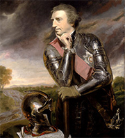 Sir Jeffrey Amherst, painted by Joshua Reynolds in 1765.