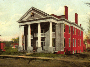Elks Club Building (c. 1907). Postcard courtesy of Steven G. Meeks.